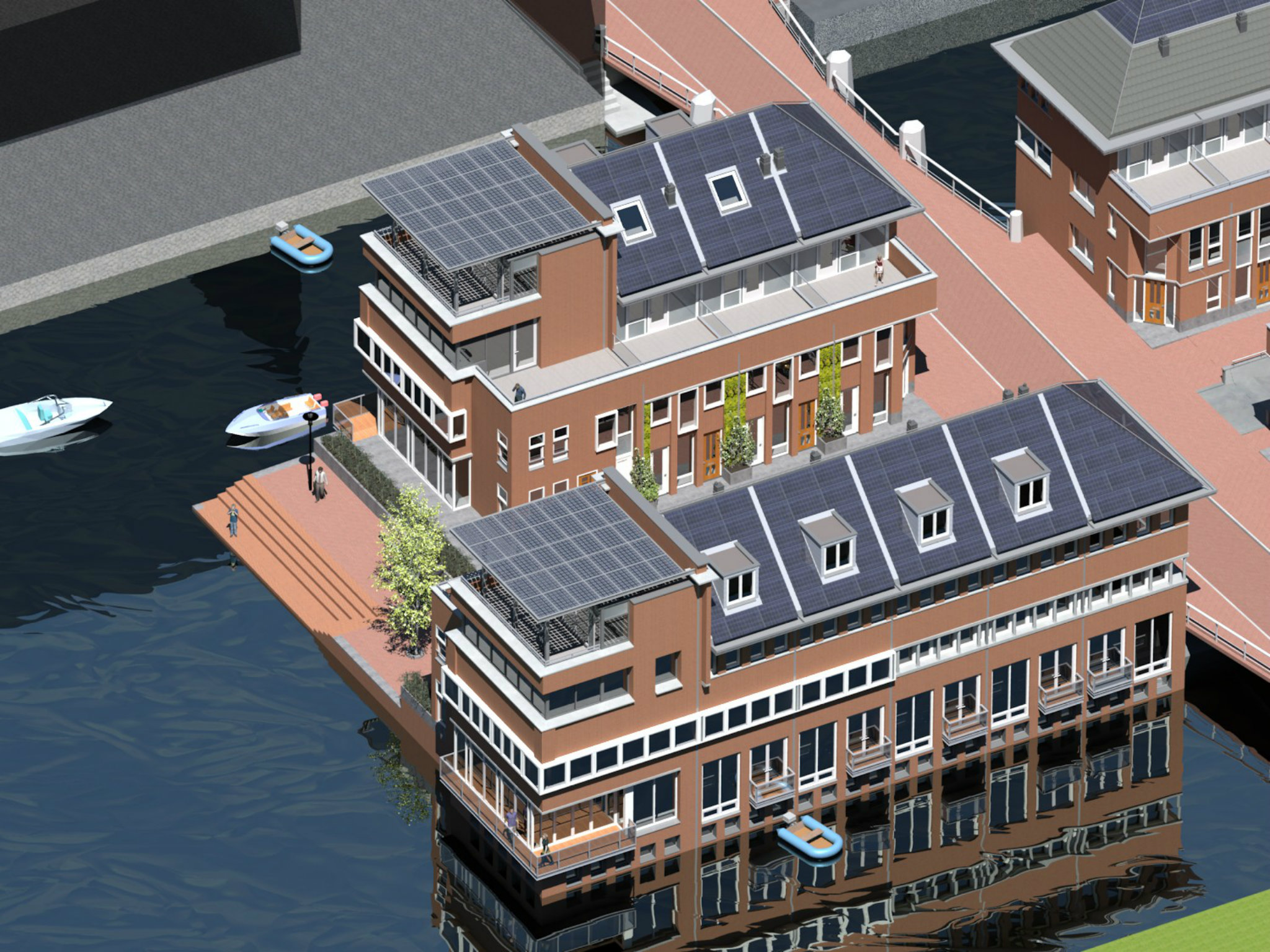 Trahecon Houthavens Pier 2 fase 4 Amsterdam
